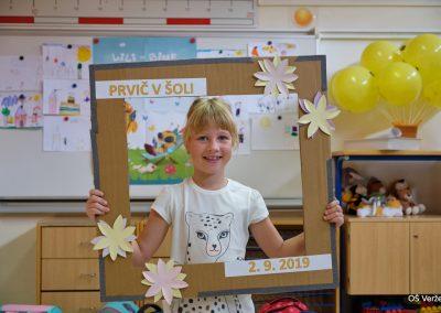 Prvi šolski dan - OŠ Veržej 06