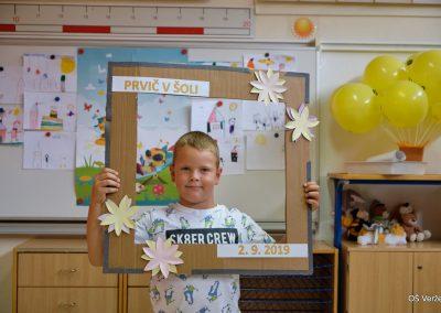 Prvi šolski dan - OŠ Veržej 10