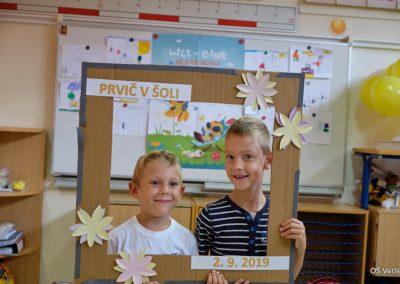 Prvi šolski dan - OŠ Veržej 13