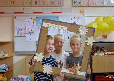Prvi šolski dan - OŠ Veržej 14