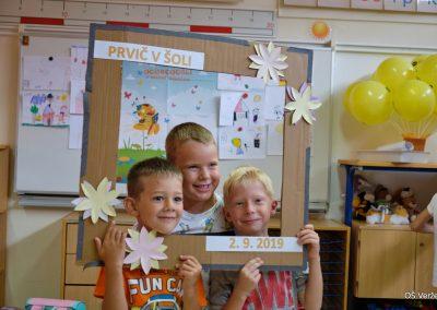 Prvi šolski dan - OŠ Veržej 16