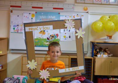 Prvi šolski dan - OŠ Veržej 17