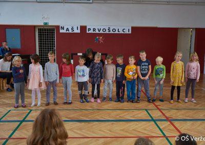 Sprejem prvošolcev v šolsko skupnost - OŠ Veržej 09