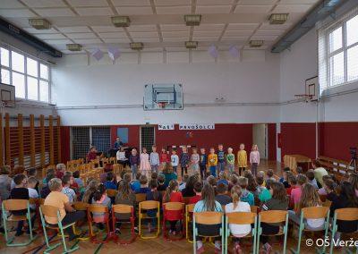 Sprejem prvošolcev v šolsko skupnost - OŠ Veržej 13
