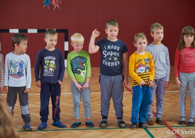 Sprejem prvošolcev v šolsko skupnost - OŠ Veržej 34