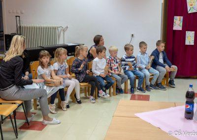 Sprejem prvošolcev v šolsko skupnost P - OŠ Veržej 08