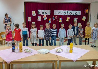 Sprejem prvošolcev v šolsko skupnost P - OŠ Veržej 16