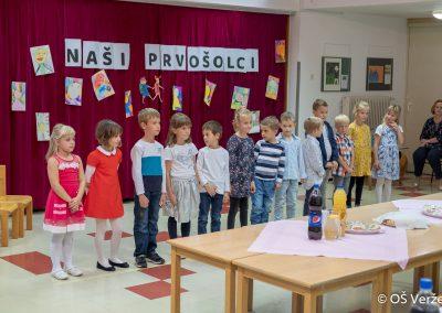 Sprejem prvošolcev v šolsko skupnost P - OŠ Veržej 17