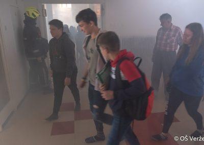 Vaja evakuacije - OŠ Veržej 05