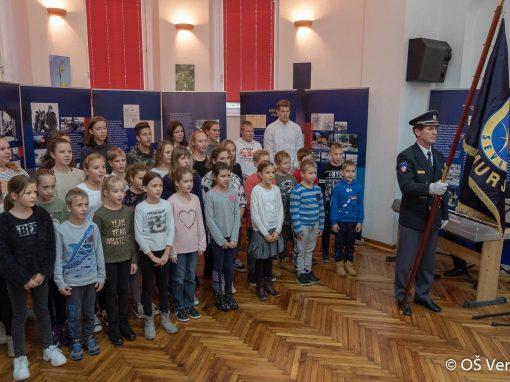 Odprtje razstave: Vojna za samostojno Slovenijo