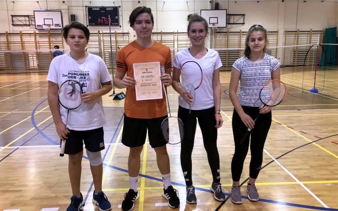 Badminton – ekipno